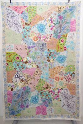 Wandbehang Fine work pastell-bunt