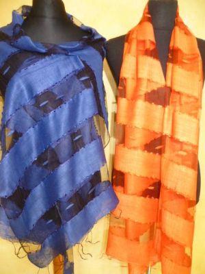 Schals aus Seide und Viskose - 11 Farben!