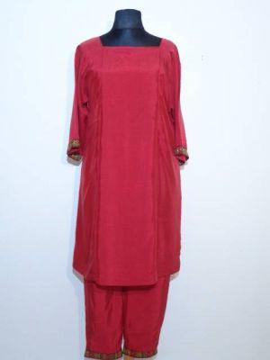 Salwar Kameez indisch rot