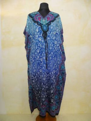 Fancy Kaftan blau