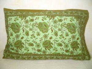 Kissenbezug 40x60 Blumenprint grün