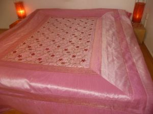 Tagesdecke Classic rosa