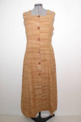 Sommerkleid aus indischer Khadi-Baumwolle