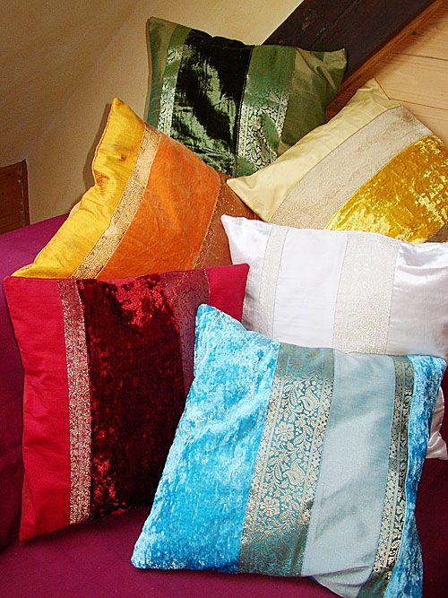 Kissenbezug 40x40 Silk-Velvet