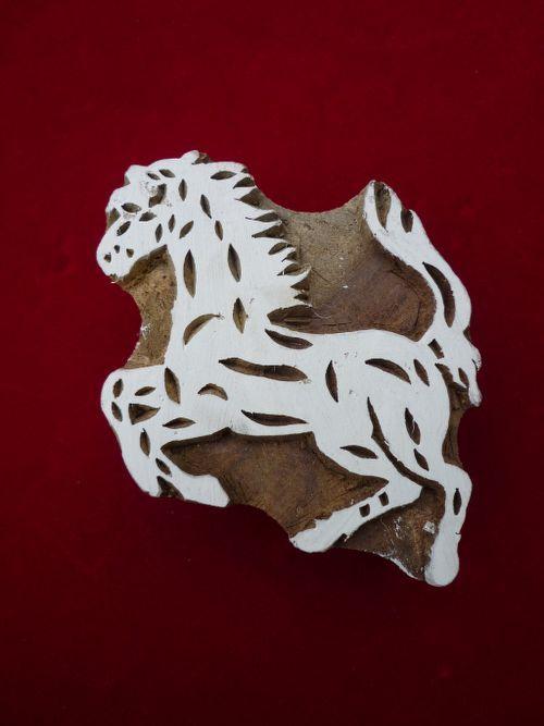 Stempel Tiermotive Pferd (aus Kategorie neu einfach)