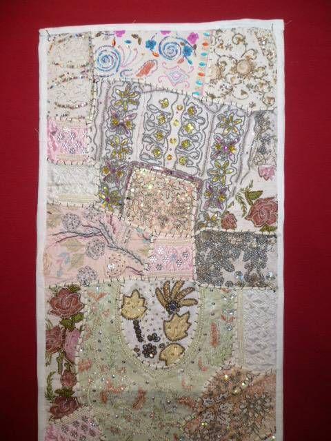 Wandbehang 39 patchwork 39 wei s iii out of india - Wandbehang patchwork ...
