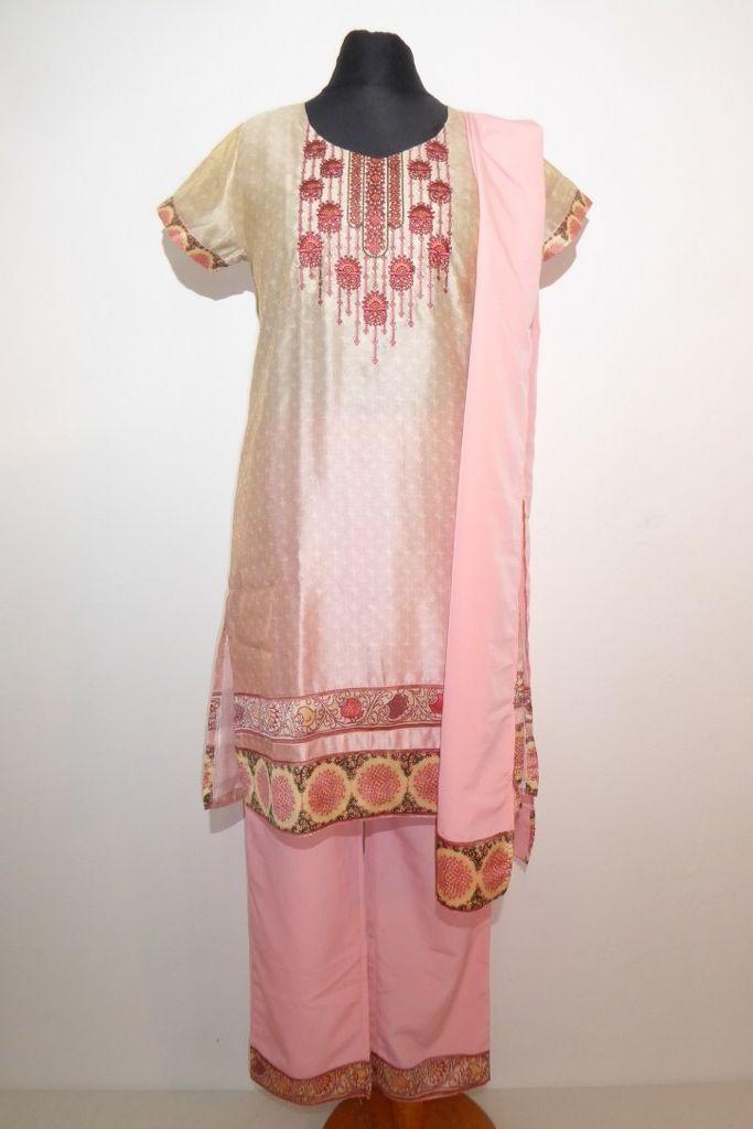 Salwar Kameez Vintage rosa