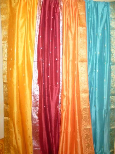 Baumwoll-Saris Cottondream - 4 Farben