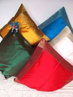 Kissenbezug 50x50 Seidenlook - 10 Farben!