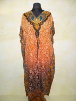 Fancy Kaftan orange