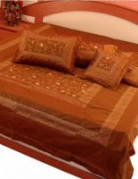 Tagesdecke Classic terrakotta - 5-teilig