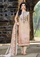 Salwar Kameez Vintage grau-rosé
