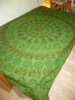 Tagesdecke Leela grün - S