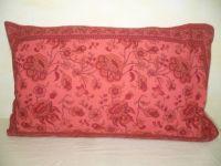 Kissenbezug 40x60 Blumenprint rot