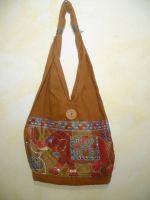 Taschenbeutel aus Baumwolle - Elefant