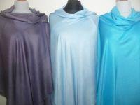 Seide-Viskose Schals II - zwei Farben