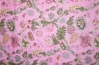Baumwollstoff Jaipur rosa