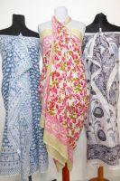 Indische Baumwoll-Sarongs - 5 Designs